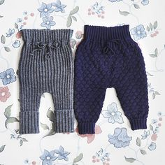 Ravelry: Cozy Bubble or Lounge Pants pattern by Sus Gepard