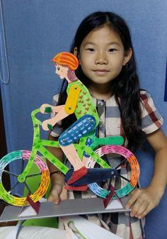 자전거탄 사람 : 네이버 블로그 Art Lessons For Kids, Projects For Kids, Art For Kids, Art Projects, Crafts For Kids, Creative Crafts, Creative Art, Diy Artwork, Artwork Ideas