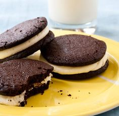 Homemade Oreos--Infinitely better than their store-bought counter-parts, these favorites are easy to make and easier to eat. Via FineCooking