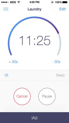 Timer detail running Mobile Ui Design, App Design, Flat Design, Design Trends, Design Ideas, Ios Ui, Ui Ux, Timer App, Mobile App Ui