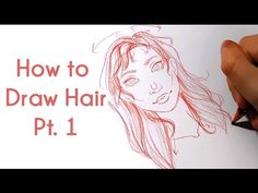 How to Draw Hair Pt. 1 | Art Tutorial Series - YouTube