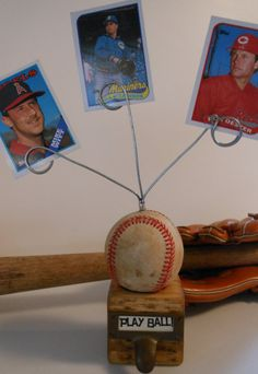 Baseball Card Photo Display