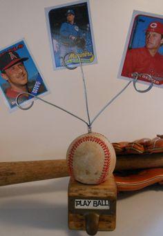 Baseball Card Photo Display