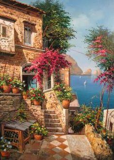 Terrasse d'été (108 pieces)