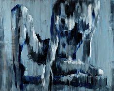 Glassiness of Femininity - oil on canvas