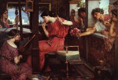 Penelope and the Suitors, 1912John William Waterhouse