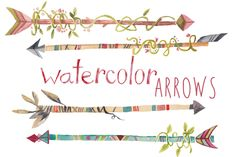 Check out Watercolor Arrows Clip Art by Digital Press Creation on Creative Market