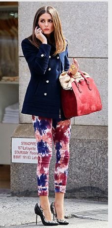 Jeans - Paige Purse - Giorgio Armani Ring - Olivia Rose Earrings - Carrera y Carrera Paige - Verdugo Ultra Skinny in Tye Dye Piperlime Paige Denim Verdugo Ultra Skinny Jeans