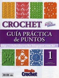 Clube do Crochê: Guia prático de pontos (Volume 1)