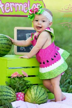 Watermelon Stand photo by Janelle Photography.  LOVE IT!