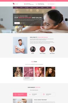 Soulcare Spa Web Template PSD is a professionally designed PSD template for spa, salon and personal care businesses. Developed using the latest design Photoshop Pics, Photoshop Actions, Design Tutorials, Design Ideas, Spa Design, Retail Logo, Modern Photography, Photo Tips, Psd Templates