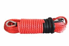 Free Shipping Red 12mm*30m Synthetic Rope for Offroad Parts,Winch Rope Extension,ATV Winch Line