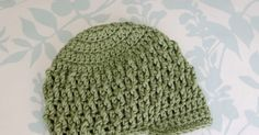 Premie size here . Newborn size here . 6-month size here . 9-12-month size here . Toddler size here . This hat is a modification fr...