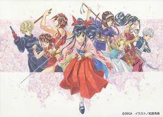 "Tokyo-based company Art Collection House plans to hold ""Sakura Wars ~Hidenori Matsubara Original Art Exhibition"" to display 30 original arts from Sega's long-running Sakura Taisen/Sa Sakura, Art Festival, Sakura Wars, Old Anime, Anime, Original Art, War Art, Art Exhibition, Art World"