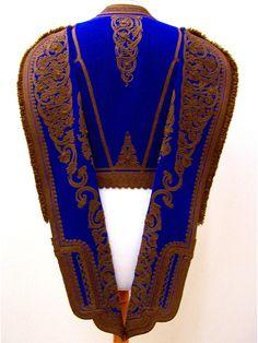 """Male vest for foustanela costume. Called """"Fermeli"""""""