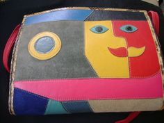Vintage Mille Fiori Cubist Purse 1980s by truthorwear on Etsy, $395.00