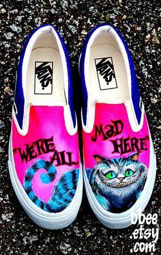 c10f6ab3d1 Mad Hatter Vans -