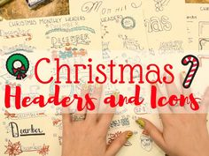 It's here! I've had so many requests for Christmas themed Headers and Icons video so I really hope you all enjoy them. Enjoy Christmas themed monthly headers, daily headers, corner desi…