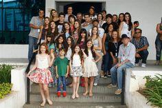 Elenco de 'Chiquititas' se despede após o fim das gravações