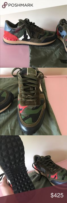 Valentino rock runner sneaker Amazing and super fashionable Valentino sneaker. Worn twice. Valentino Shoes Sneakers