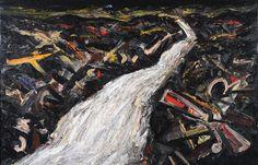 'Night Stream', Peter Booth