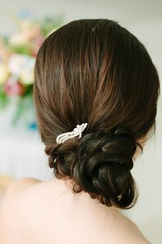 28 Classy and Elegant Wedding Hairstyle Inspiration: http://www.modwedding.com/2014/10/21/28-classy-elegant-wedding-hairstyle-inspiration/ #wedding #weddings #updo_hair #hairstyles Featured Photographer: City Love Photography