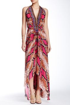 Convertible Silk Python Dress by Parides on @HauteLook