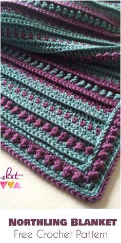 Northling Blanket - Free Crochet Pattern