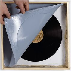 How to pirate a vinyl record.  Red records!  How cool!!!!