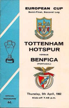 """""""The Danish referee robbed Spurs of a place in the 1962 European Cup final. Back then I believed Spurs would play in one sooner or later, but 50 years on and I'm still waiting."""""""