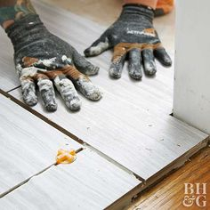 How to Tile and Grout a Floor