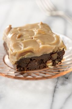Praline Brownies - These are spectacular! If you bring these to a party, don't expect to come home with any left!