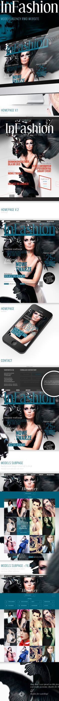 InFashion by Patryk Ciacma, via Behance