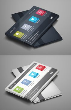 Modern Design Business Cards (25 Templates) - 18