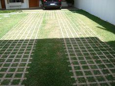 piso grama Grass Pavers, Exterior, Cottage, Backyard, Landscape, Architecture, Building, Garden, Design