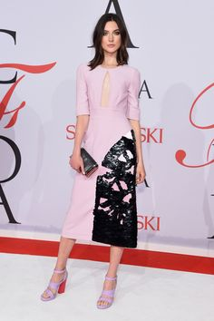 Jacquelyn Jablonski wearing a Giulietta dress at the 2015 CFDA Awards