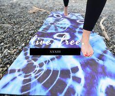 Yoga Mats Made Functional and Beautiful.  Hot Yoga Mat Towel Combo