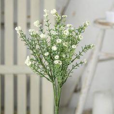Cream Artificial Gypsophila Bush