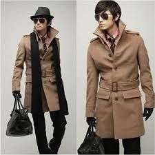 Image result for trenchcoat high collar