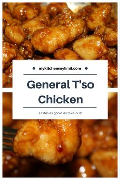General Tso Chicken: as good as take out