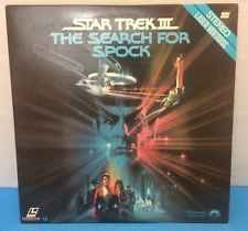 STAR TREK III STAR TREK 3 THE SEARCH FOR SPOCK LASER DISC EXCELLENT COND.