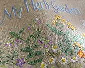 Herb Embroidery on Linen Vol 3 - Japanese Craft Book