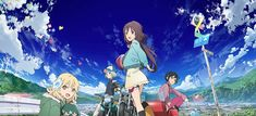 The Rolling Girls BD Subtitle Indonesia download anime batch sub indo 360p 480p 720p 1080p