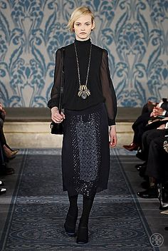 Tory Burch Fall 2013 #ToryFall13  mysterious gorgeous