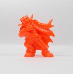 Monster In My Pocket - Series 1 - 33 Vampire - Neon Red - Mini Figure