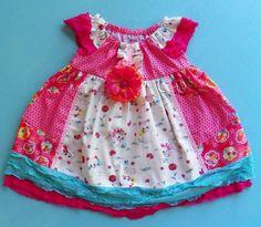 Bright Kitties Dress