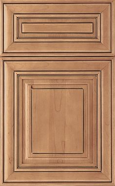 Cambridge Door Style Square Maple Ginger Mocha
