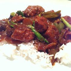 Slow-cooker recipe: Beef in black bean sauce