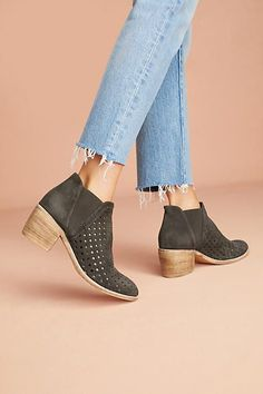 Silent D Omirna Perforated Chelsea Booties