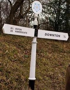 Didn't we go to Harrogate?  I still have a bottle of water from there.